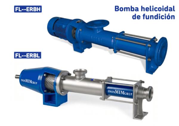 Pompe de coulée à vis sans fin FLOWMIM pompes à eau industrielles
