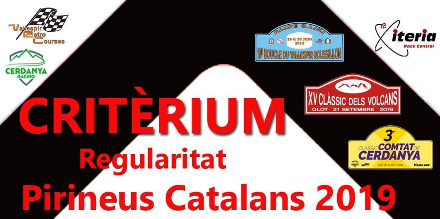 CRITÈRIUM Regularitat Pirineus Catalans