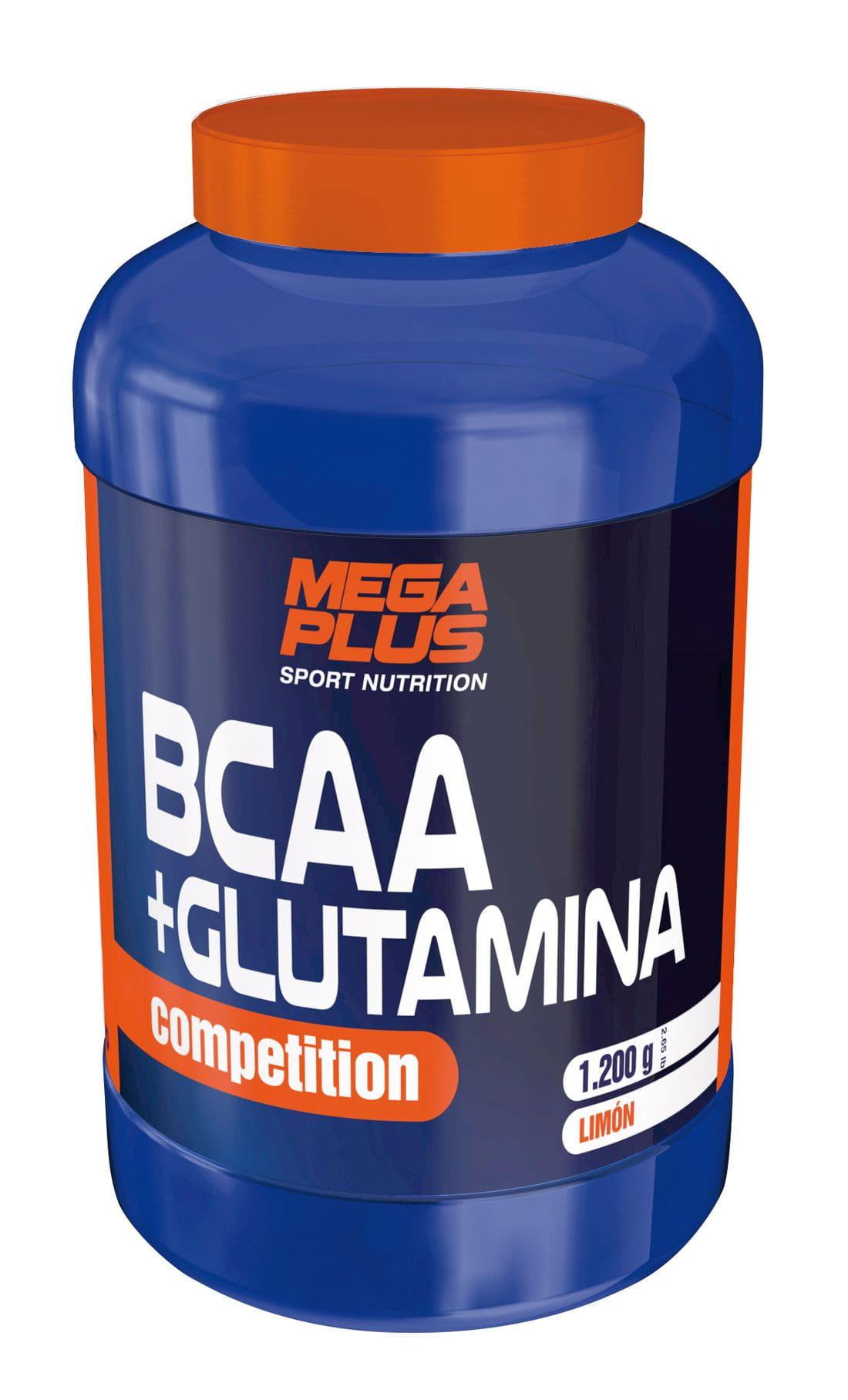 MEGA PLUS BCAA+GLUTAMINA