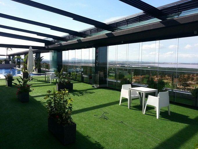 Toldos personalizados para terrazas y restaurantes for Toldos de vela para terrazas