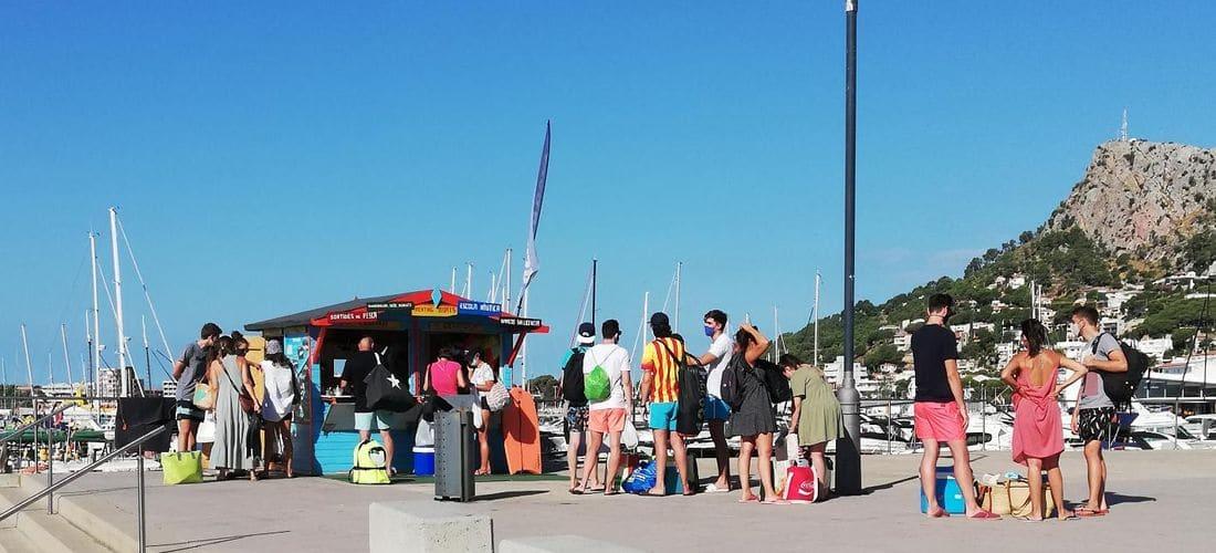 Alquilar barco en Costa Brava