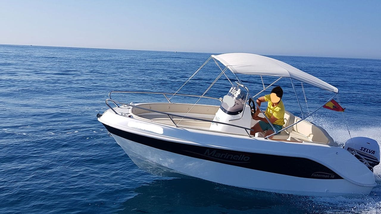 Boat without a license: Marinello 16