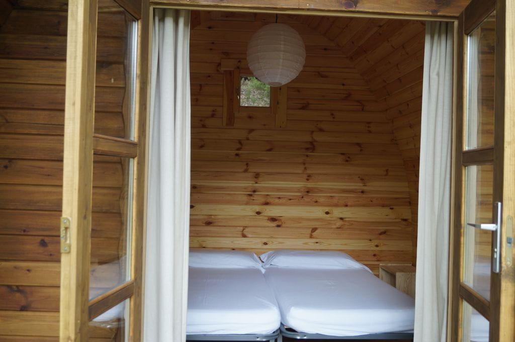 Bed 2 Personen.2 Personen Camping Macanet De Cabrenys