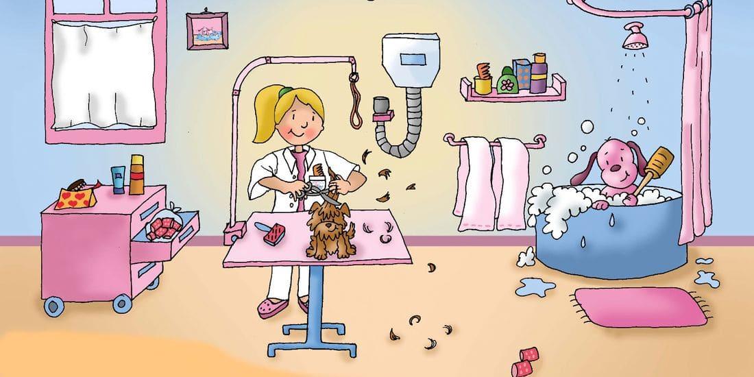 Vuestros perros quedarán muy guapos en nuestra peluquería.