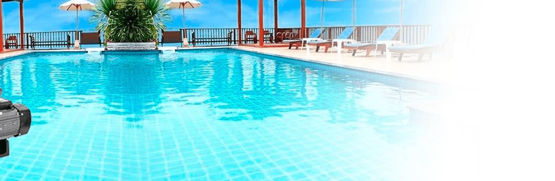 Pompes centrifuges pour piscines fabriquées en matériaux de haute qualité avec préfiltre demontable et couvercle transparent.