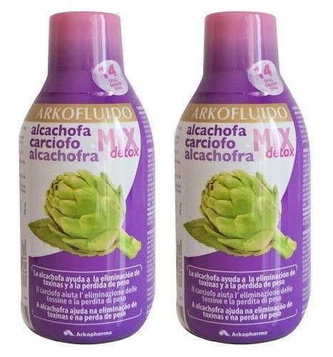 Arkofluido Pack Alcachofa Mix Detox (2x280ml)