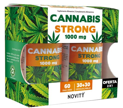 Cannabis Strong 60 Comprimidos