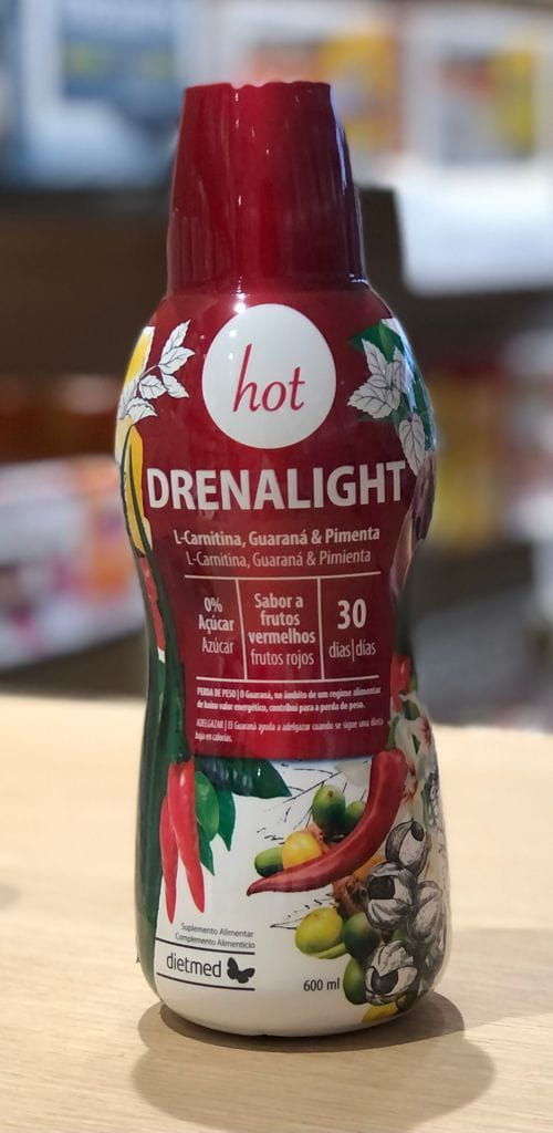 Dietmed Drenalight Hot 600ml