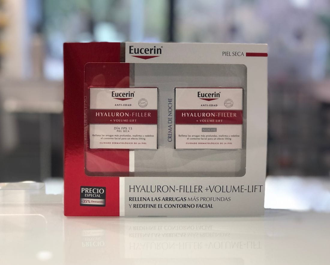 Pack Eucerin Hyalluron Filler Volume-Lift