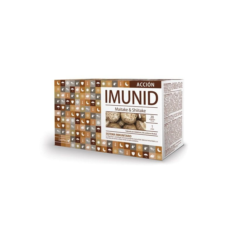 Imunid Acción 20 Ampolles