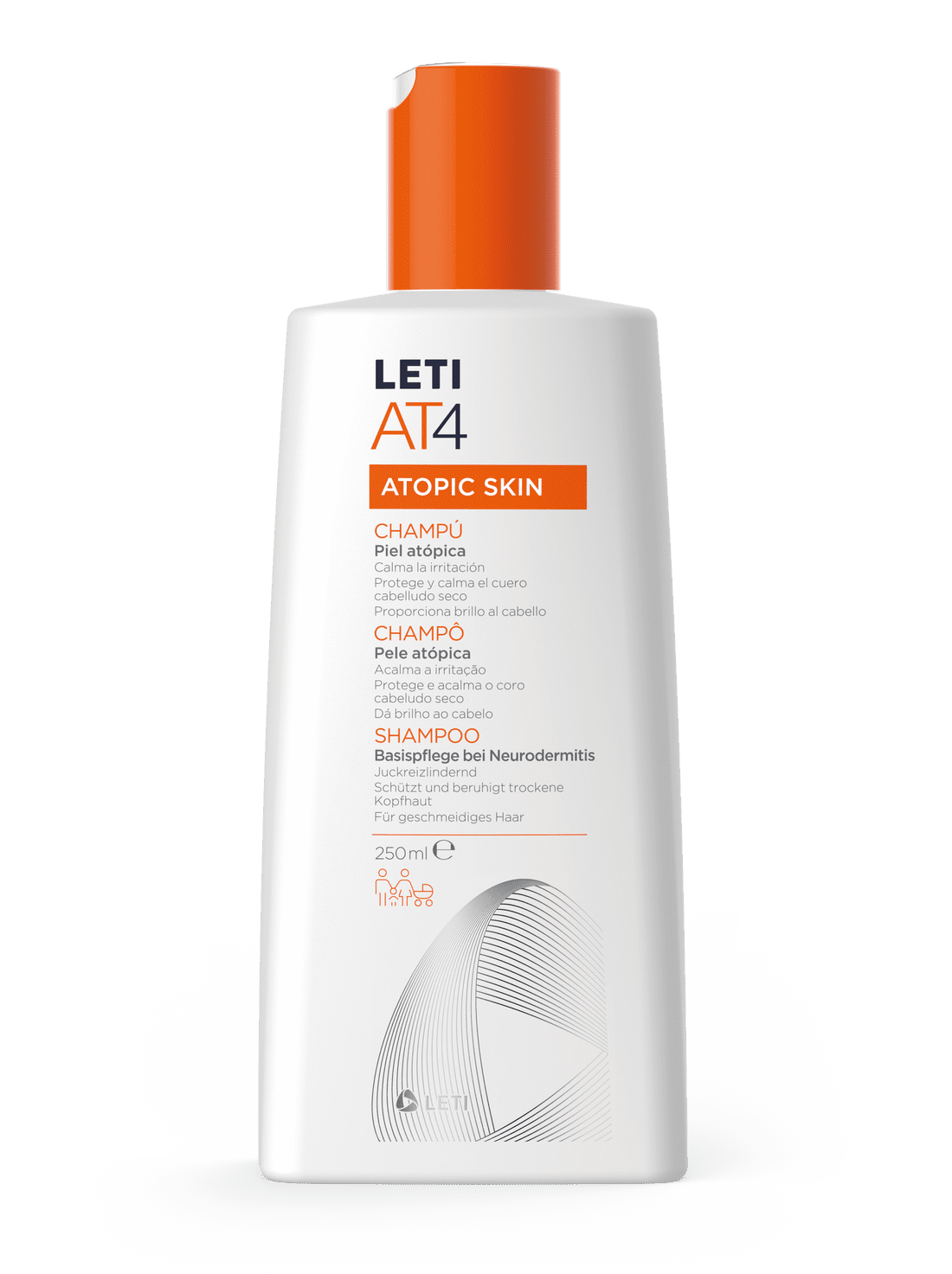Leti AT4 Xampú 250ml