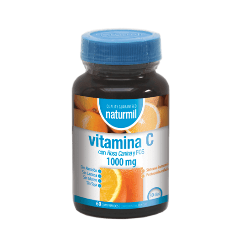 Vitamina C 1000Mg 60 Comprimits