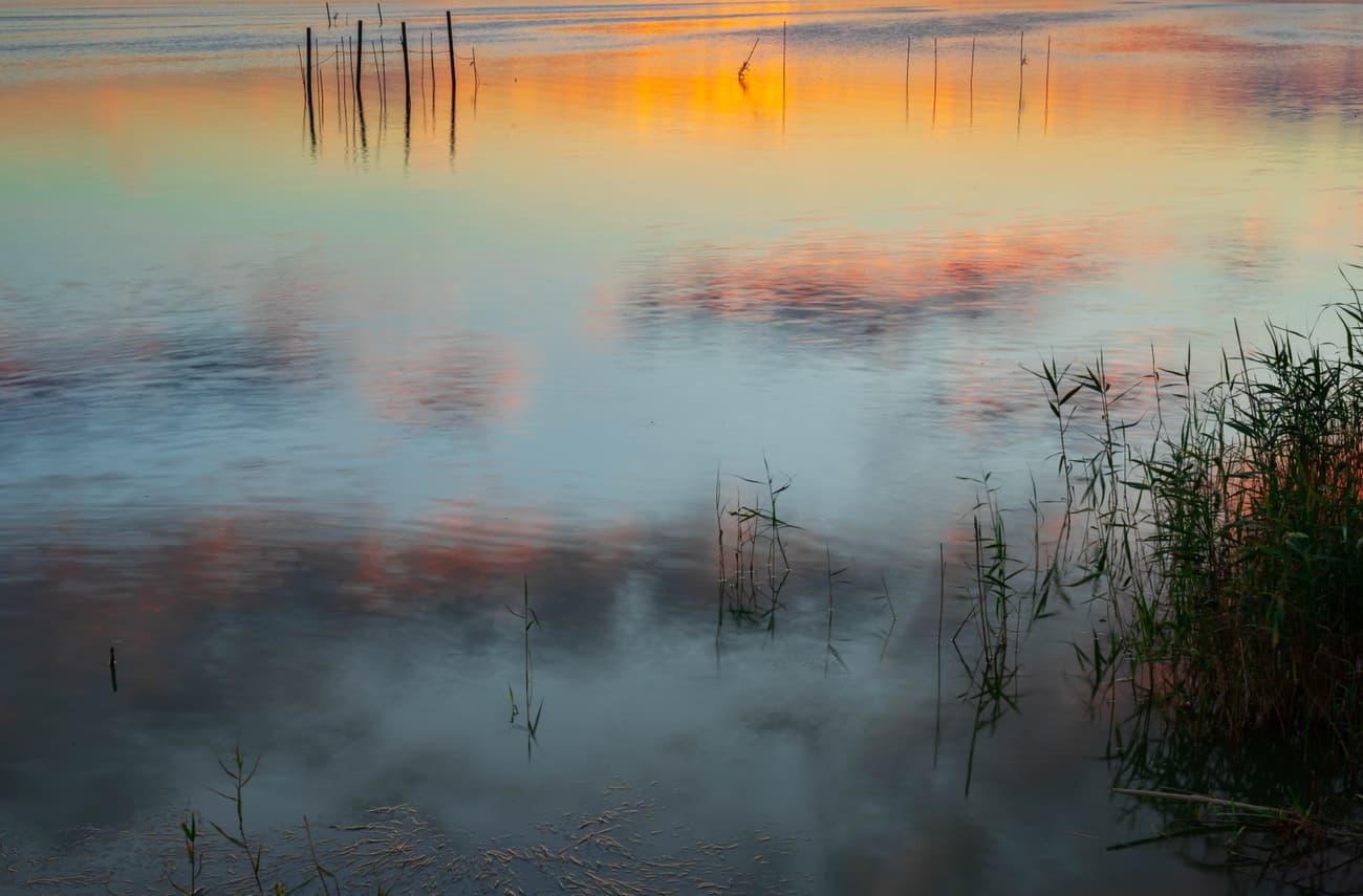 Sunset over lake Banyoles. 14.04.19. Kilian Vindel   Canon Eos 6d Mark ii - 1. 50mm f/7.1 10