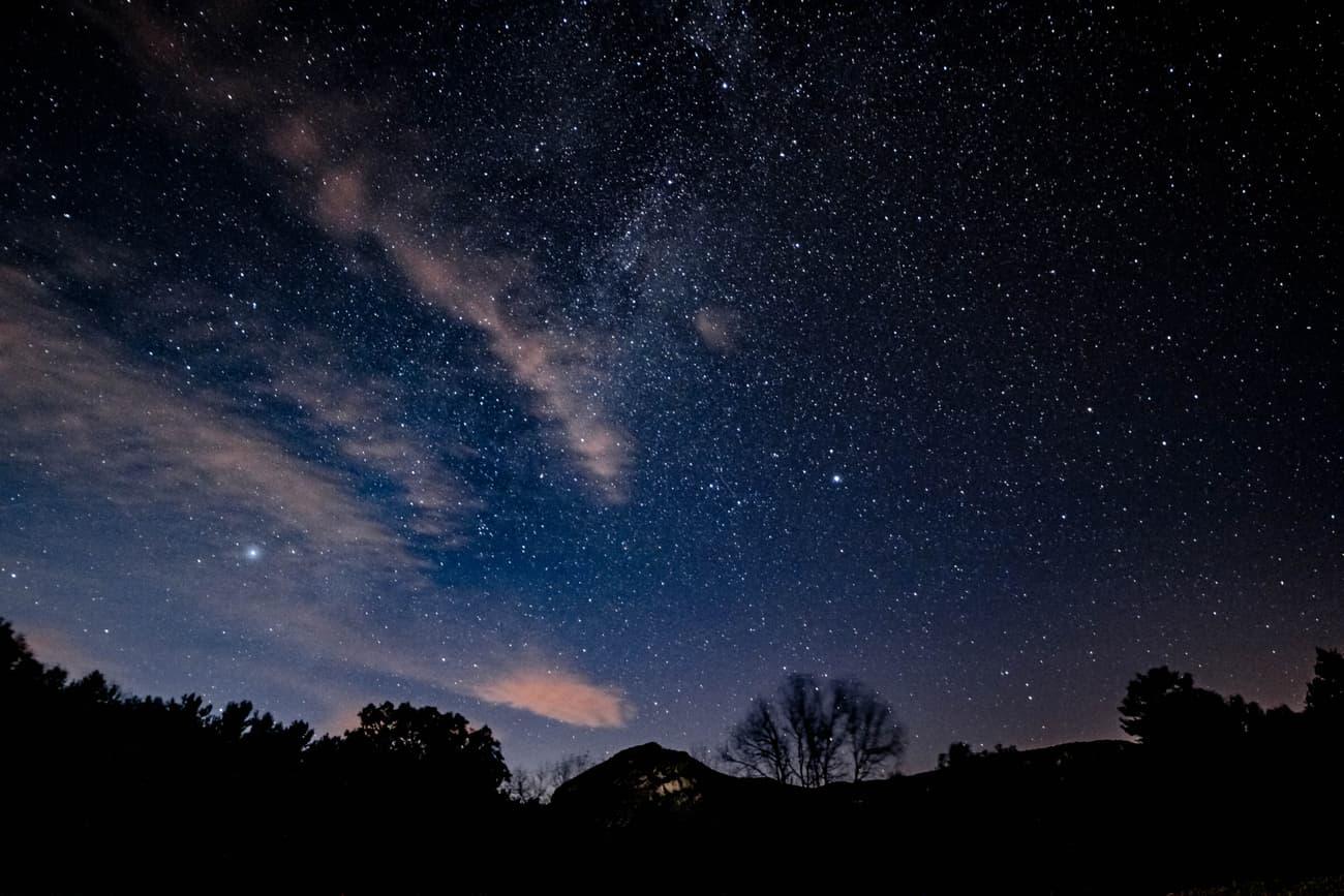 Milky way, sunset clouds, Bassegoda and Altair.  Kilian Vindel   Casalot, Alta Garrotxa. 02.01.19-Irix Firefly 15mm f/2.4 ISO 800 20