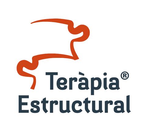 Amb aquest logo s'identifiquen tota la informació, esdeveniments i formacions originals de Teràpia Estructural. Per altra banda, és l'utilitzat pels professionals del benestar que superat el període de pràctiques passen a formar part del nostre equip.