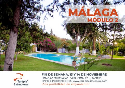 Módulo 2 de Teràpia Estructural en MÁLAGA, 13 y 14 de noviembre