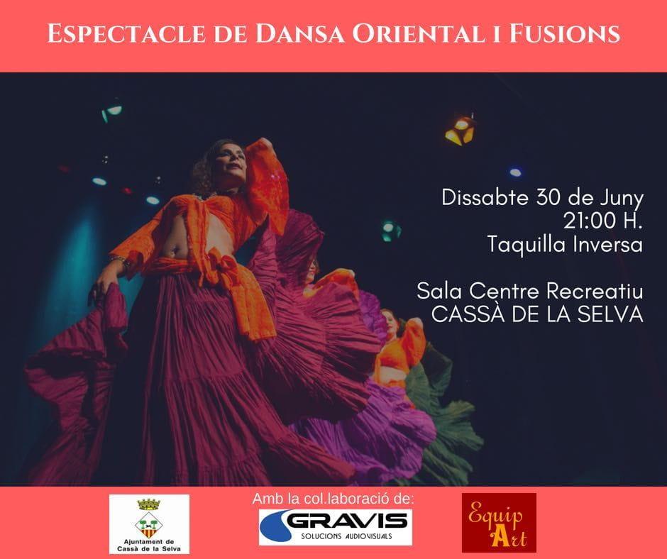 Gravis, Patrocinador del Espectáculo de Danza Oriental y Fusiones del próximo 30 de junio