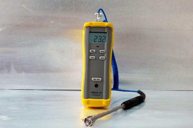 Termòmetre digital portàtil fins a 1300ºC