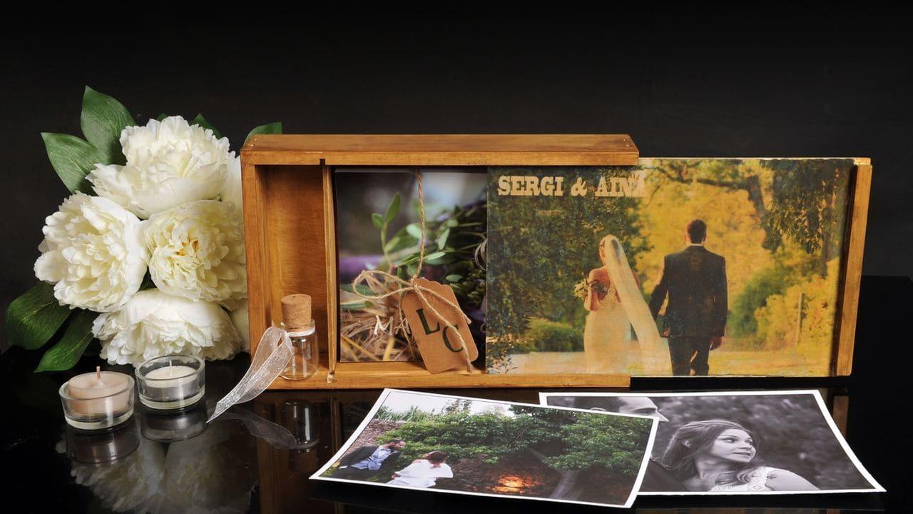 Espectacular caixa on guardar els  records del vostre gran dia