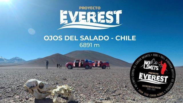 #Nolimits Expedició als volcans Ojos del Salado a Xile