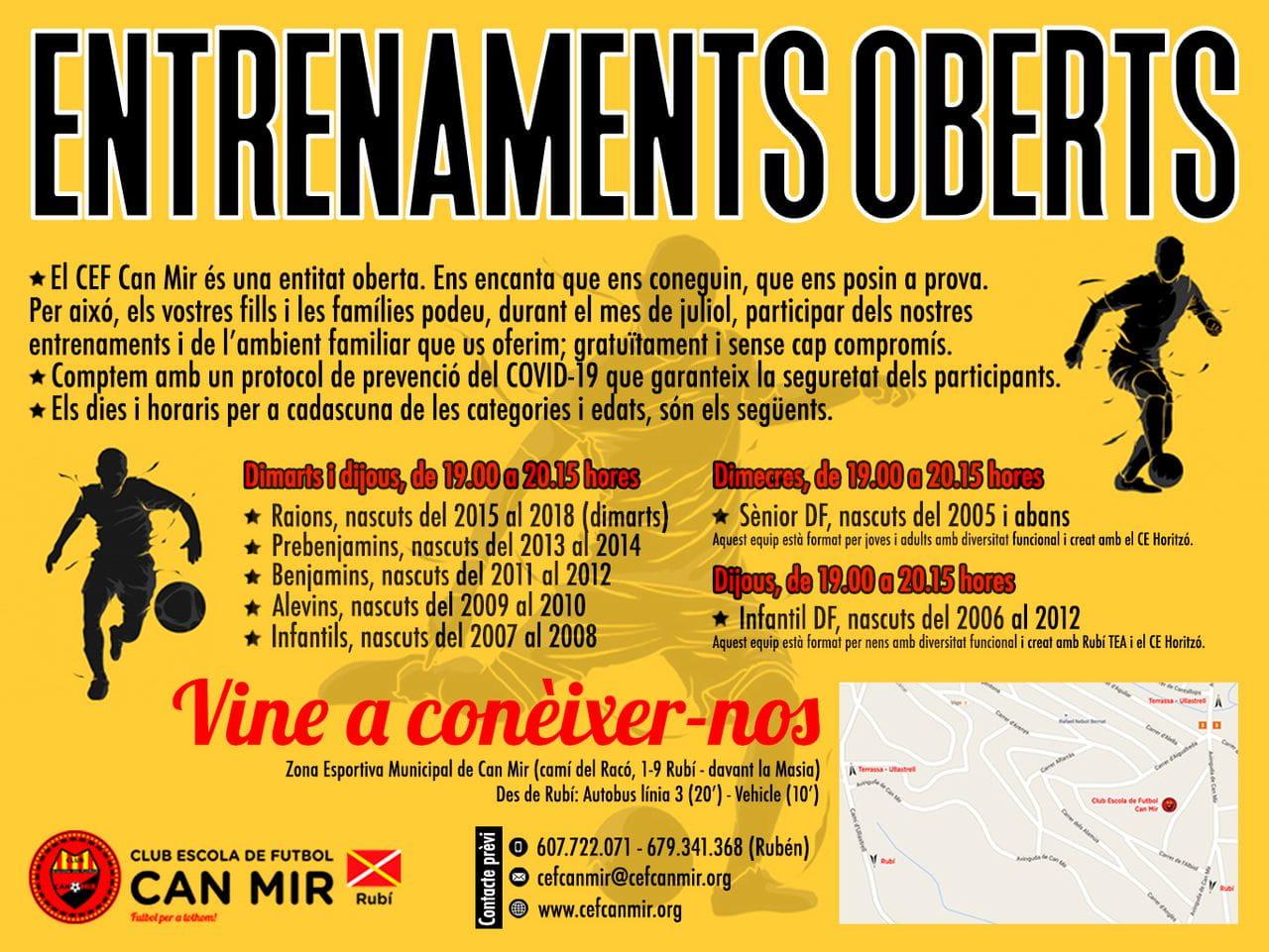 Portes obertes al CEF Can Mir durant juliol i agost