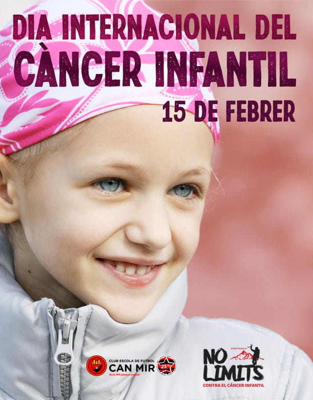 #CEFCanMir #Nolimits Dia Internacional contra el càncer infantil 2021