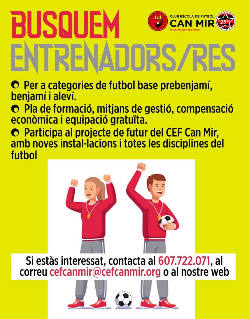 #CEFCanMir Entrenadors #FutbolPerATothom 2021