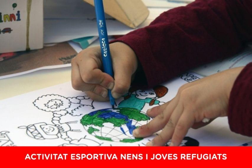 #CEFCanMir Activitat Refugiats