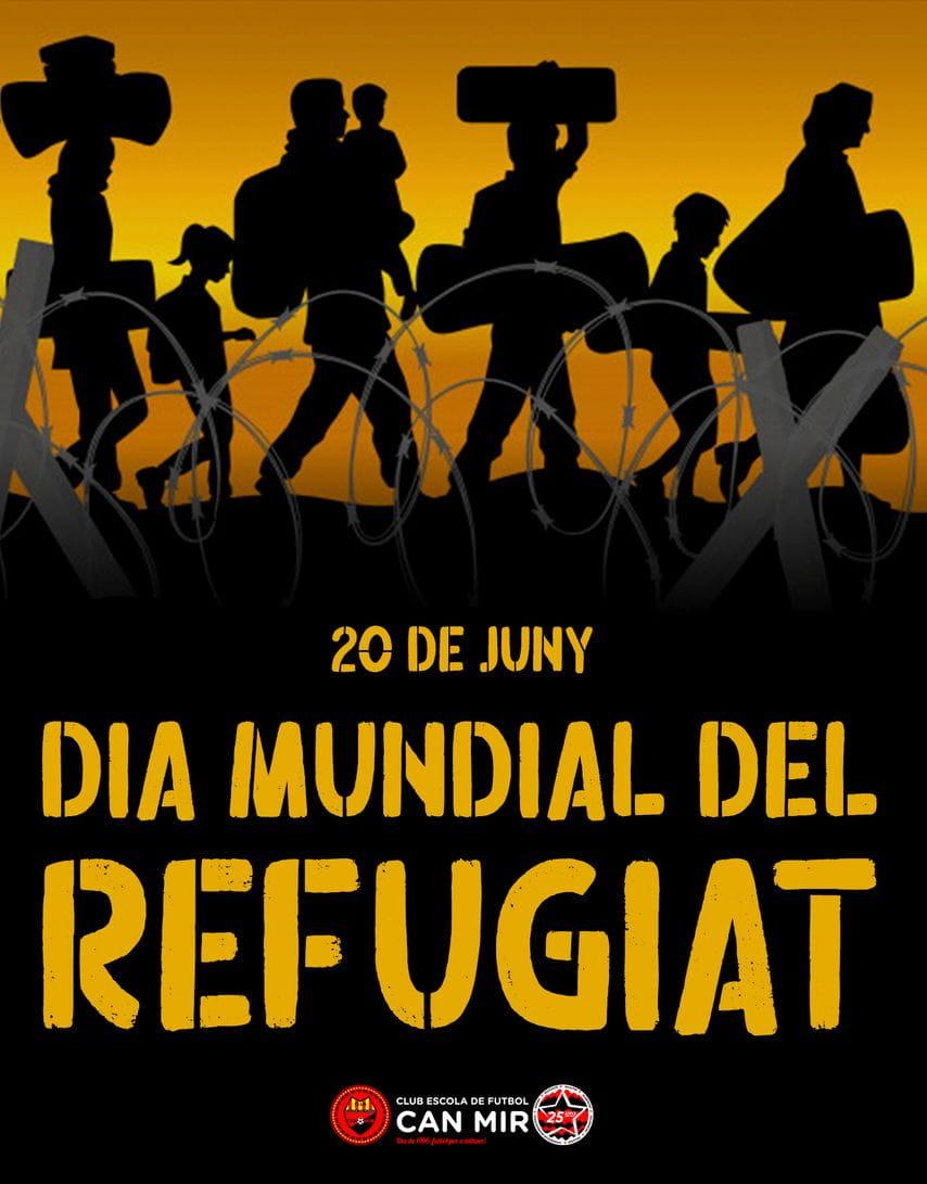 20 de juny. Dia Mundial del Refugiat 2021