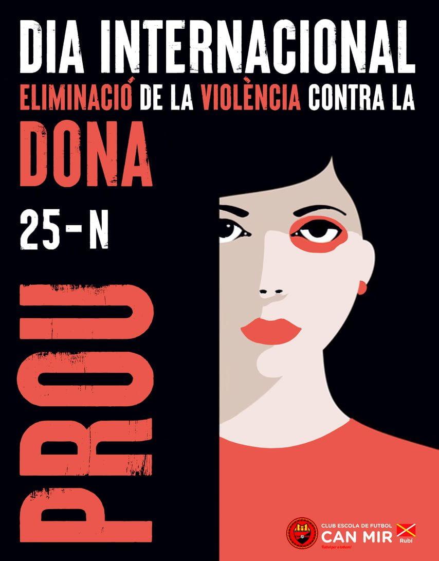 Dia Internacional eliminació de la violència contra la dona 2020 #CEFCanMir