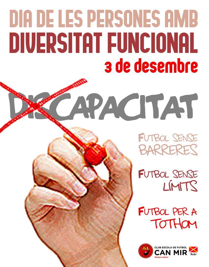 #CEFCanMir Dia de las personas con diversidad funcional