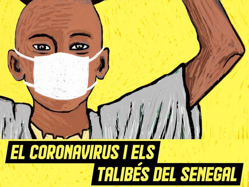 El coronavirus deja sin comida a los niños mendigos de Senegal