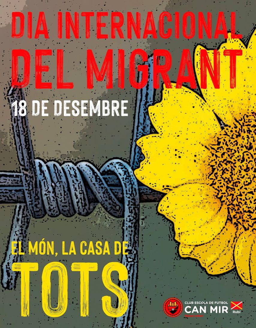 #CEFCanMir Dia Internacional del migrant 2020