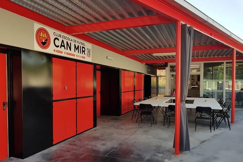#CEFCanMir Instalaciones deportivas