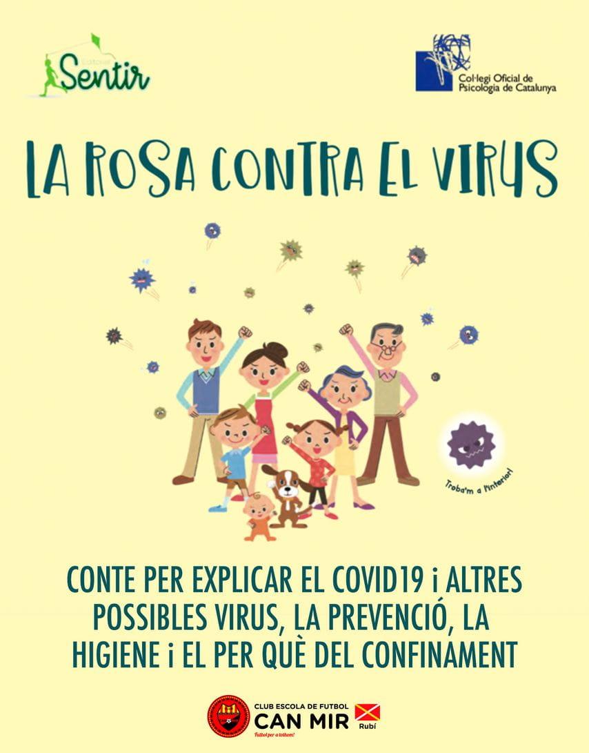 Rosa contra el virus  #CEFCanMir