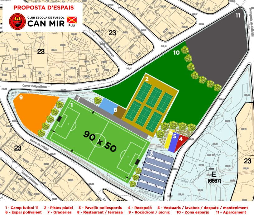 Projecte de millora de les instal·lacions municipals de Can Mir