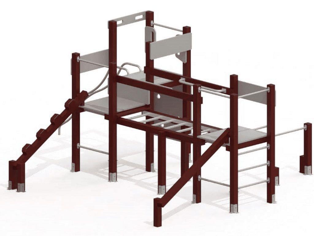 Estructura Garia Material Reciclat