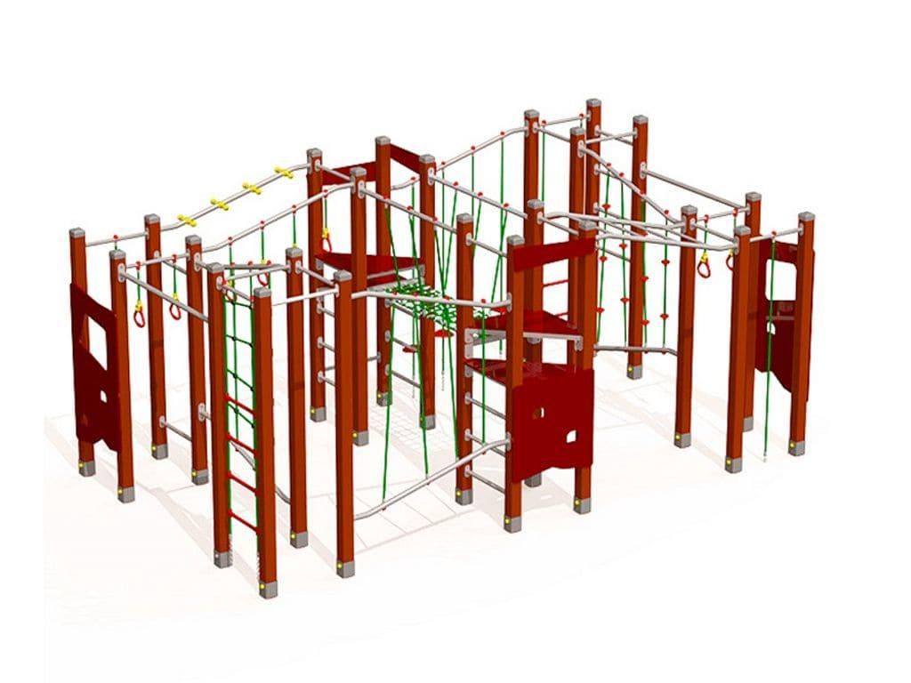 Estructura de Material Reciclat Moldàvia