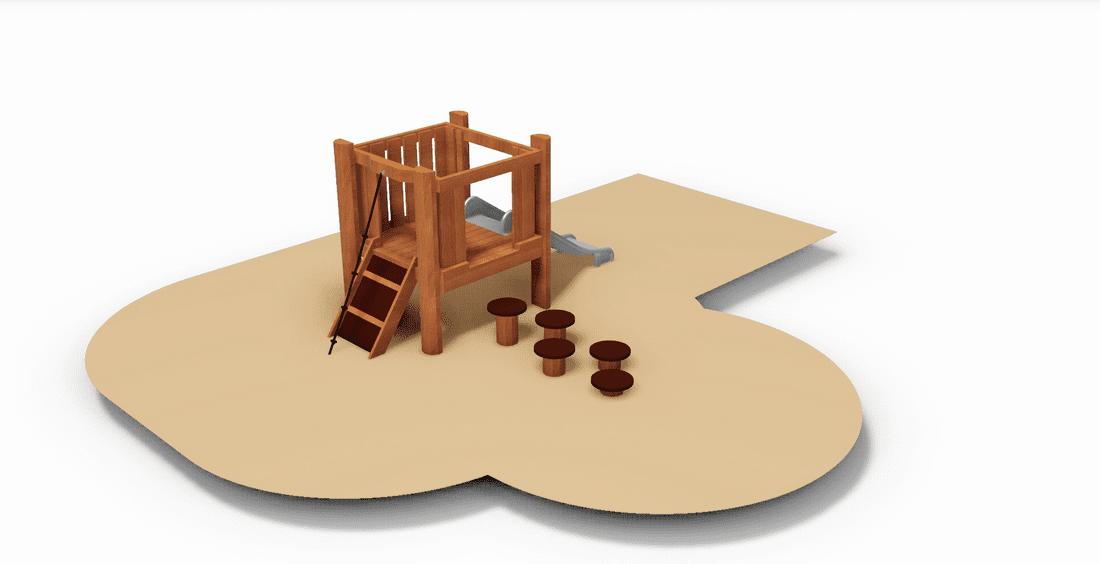 Robínia Torre Petita de Jocs amb Tobogan