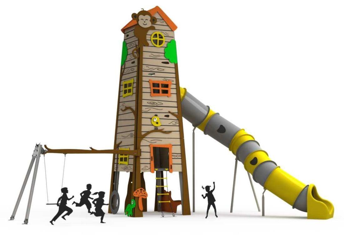 Estructura Gegant Treehouse