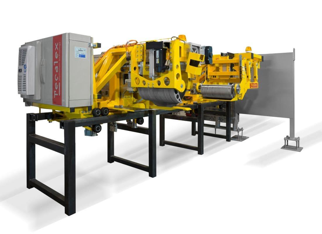 TECALEX - Leading supplier of aluminium extrusion equipment