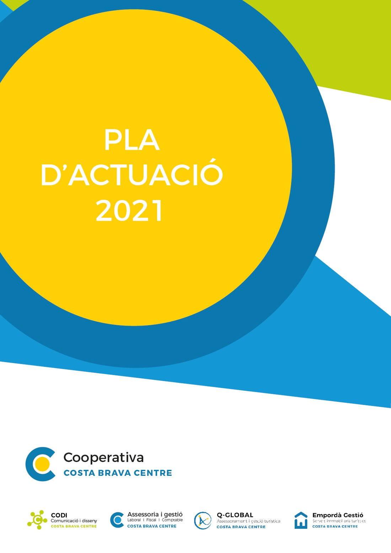 pla actuacions 2021 cooperativa costa brava centre