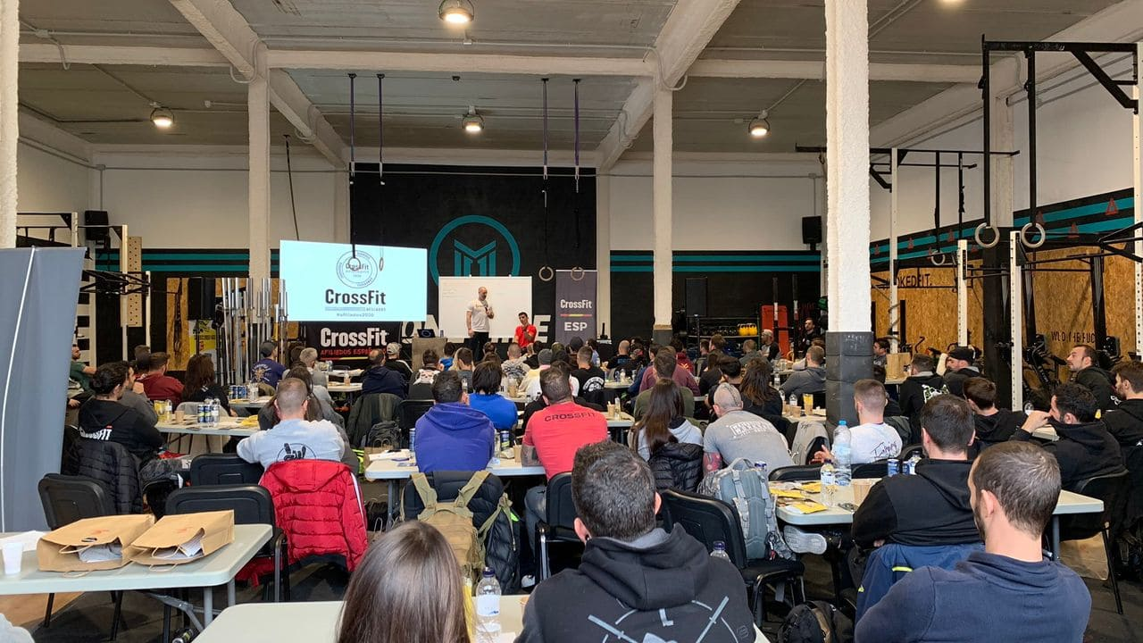 Reunió d'Afiliats Crossfit Espanya