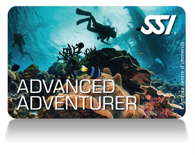 Curso Advanced Adventurer en Tossa de Mar, Costa Brava