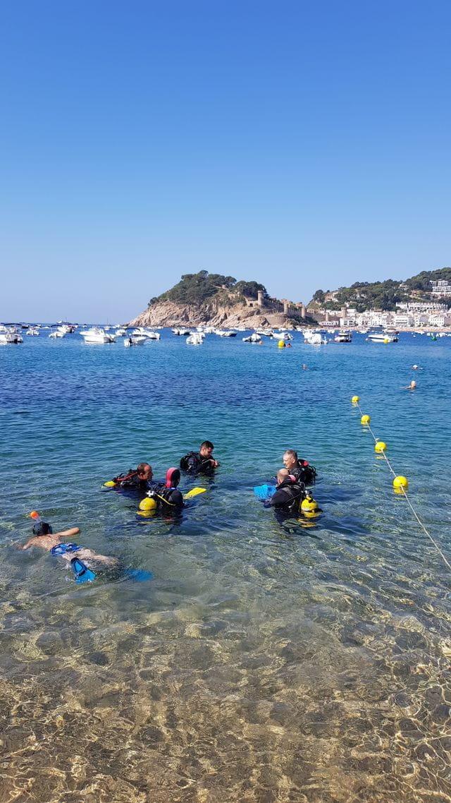 El curso Open Water Diver más completo de la Costa Brava