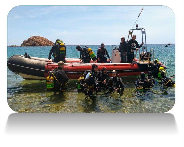 Salidas para buceadores en Tossa de Mar, Costa Brava