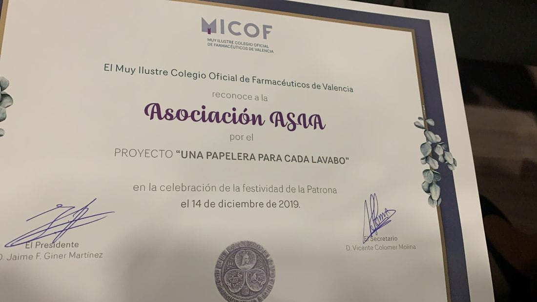Diploma acreditatiu del guardó