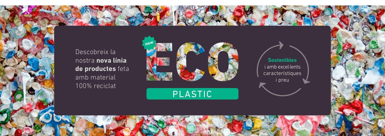 Descobreix la nostra nova línia de productes feta amb material 100% reciclat