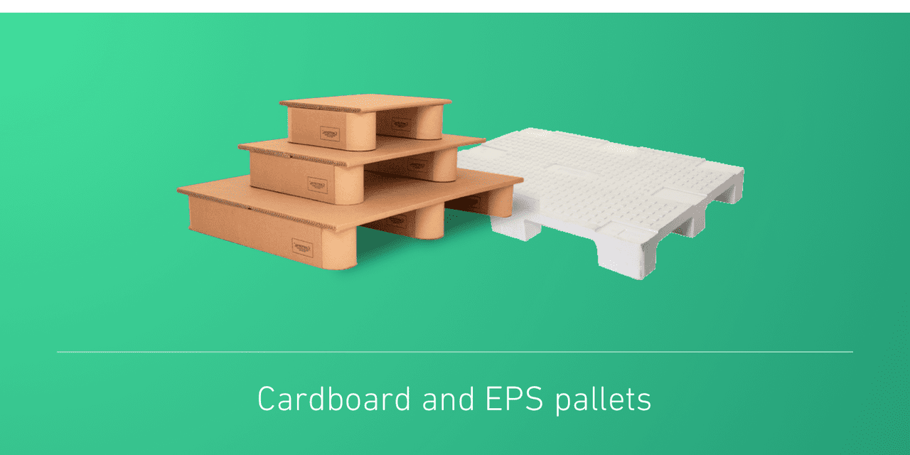 Cardboard and EPS pallets