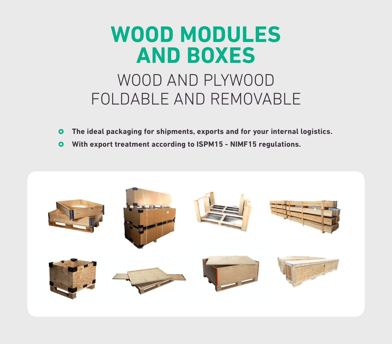 WOOD MODULES 